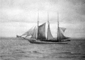 picture of ship sailed by great grandfather